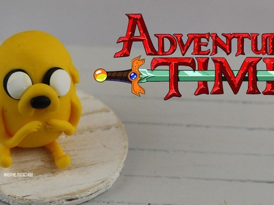Tuto: Jake Adventure Time  (Pâte Polymère).