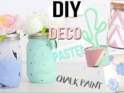 DIY ┋4 DECO PASTELS - CHAMBRE. BUREAU - CHALK PAINT _ room decor francais