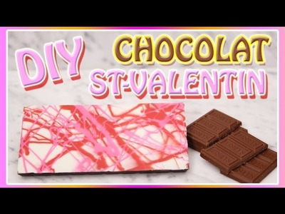 DIY BARRE CHOCOLAT ST-VALENTIN - CARL IS COOKING