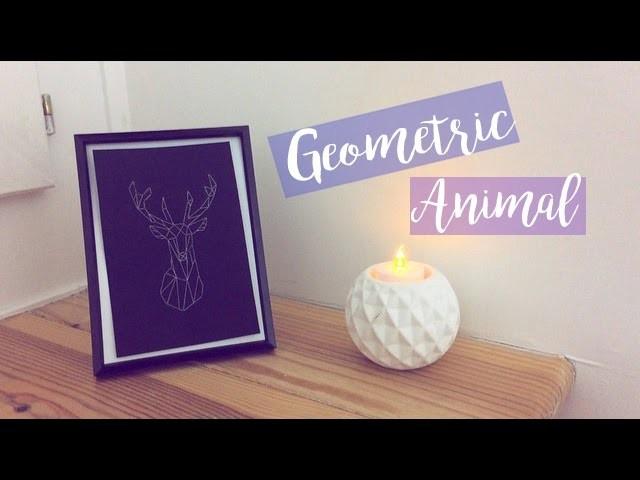 DIY- Décoration Geometric Animal