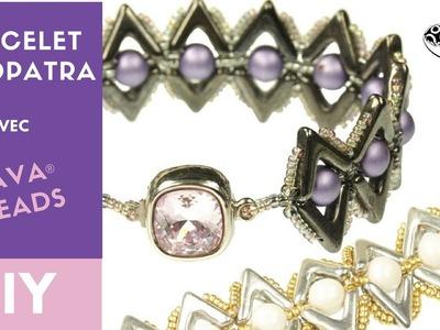[DIY Perles en verre]  - Bracelet Cleopatra avec Ava beads  par Allie Buchman
