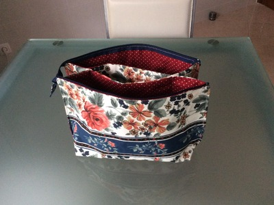 Tuto Couture Madalena. Trousse De Toilette Double