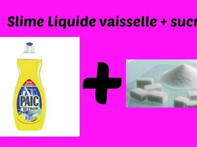Comment faire du slime avec du sucre et du liquide vaiselle