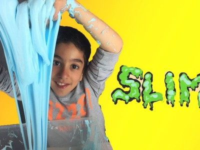 On fabrique un GEANT SLIME - How to Make DIY Slime - StudioSurpriseToys