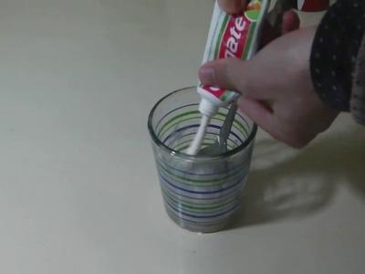 TEST slime avec COLGATE  et gel douche