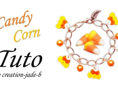 Tuto Perles à repasser (Hama) - Candy Corn Bracelet (Halloween) !