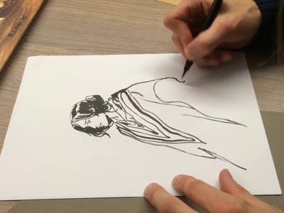 """Comment j'ai dessiné """"Notre Amérique"""", la leçon de dessin de Maël"""