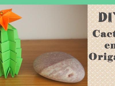 DIY - Origami FACILE : Le Cactus