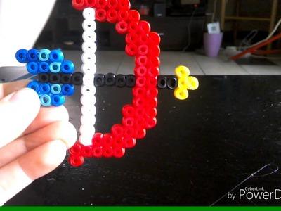 Je vous présente 7 créations de perle à repasser HAMA