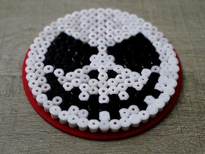 Tuto Halloween : JACK en perles hama. Perler beads JACK