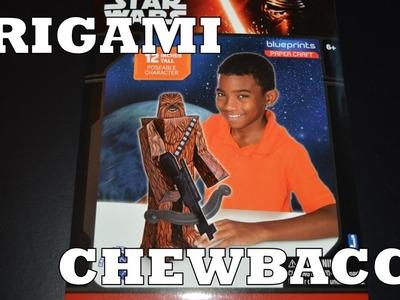 Chewbacca en Origami !