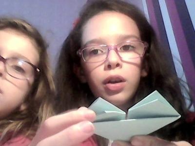 Comment faire un origami en cœur