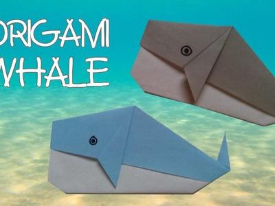 Origami facile - Origami Baleine
