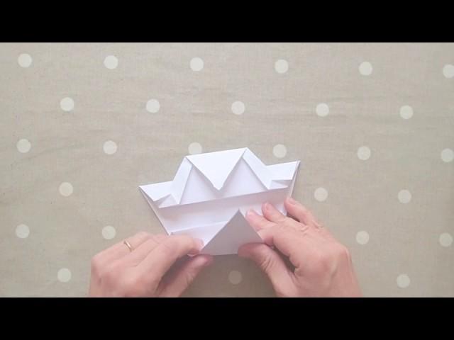Origami sapin