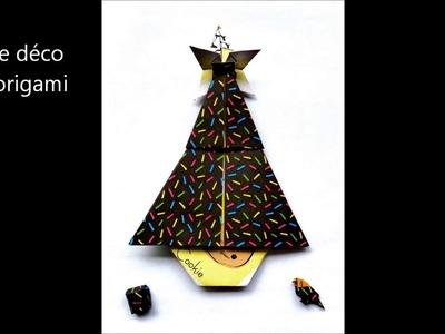 Tuto sapin de Noël en origami