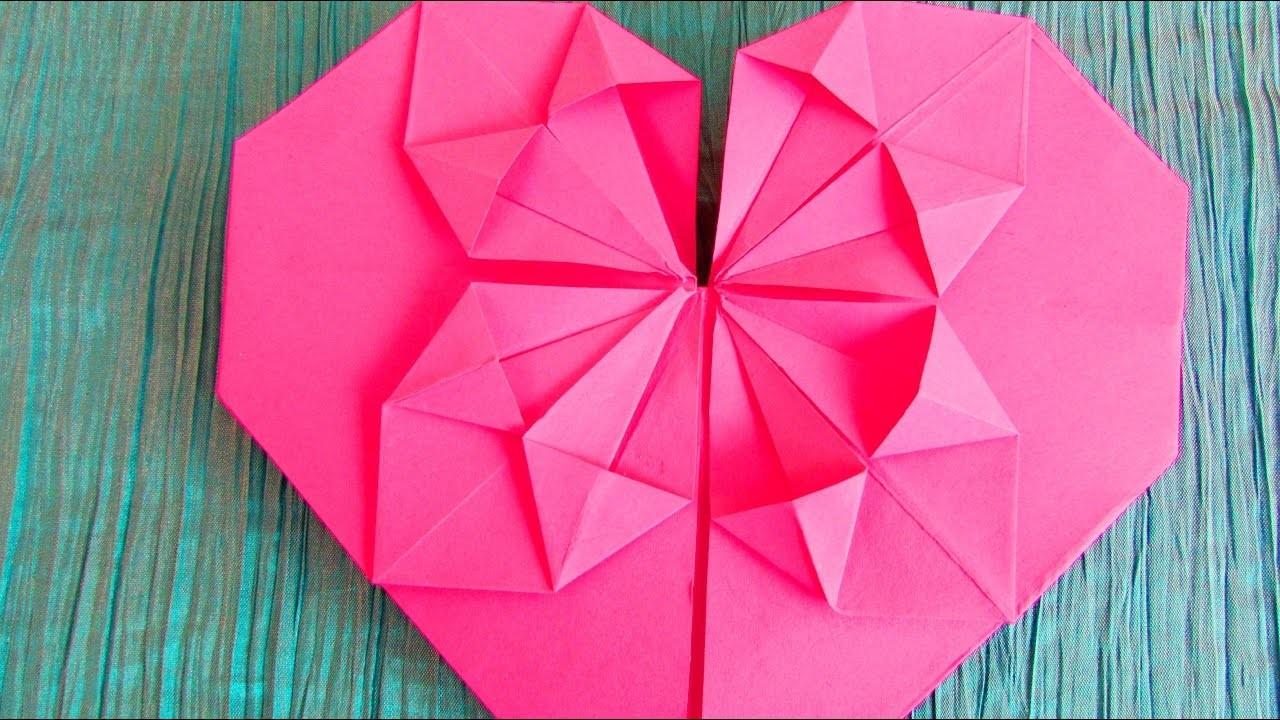 origami c ur fleurissant. Black Bedroom Furniture Sets. Home Design Ideas