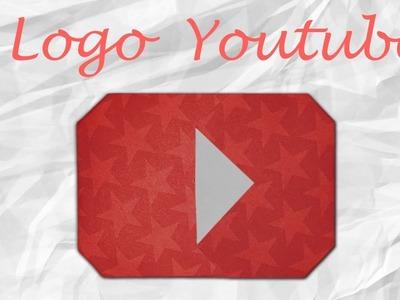 Origami : Logo youtube en papier !