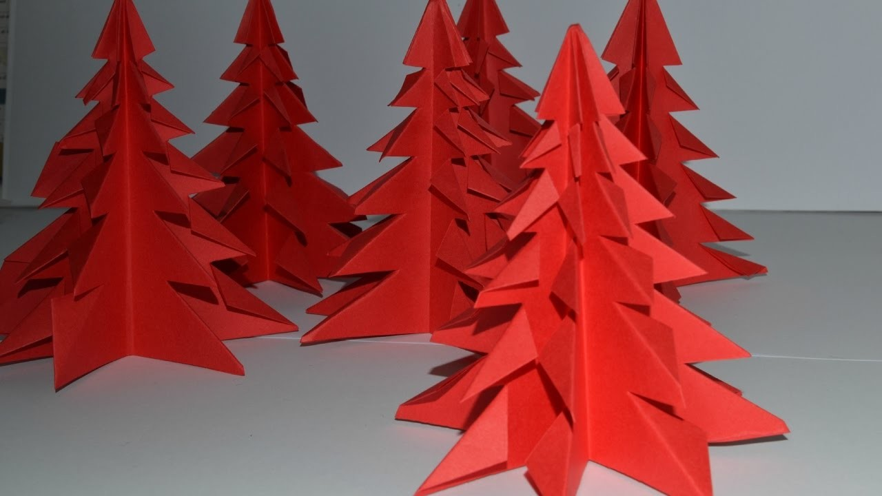 tuto origami sapin de noel. Black Bedroom Furniture Sets. Home Design Ideas