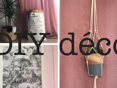 3 DIY déco: Inspiration PINTEREST
