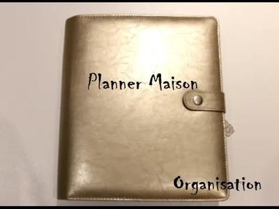 ★ Comment j'organise mon planner maison ★