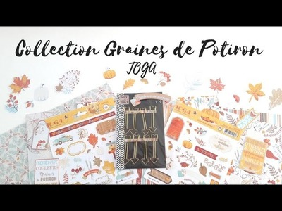 DÉCORER SON PLANNER : COLLECTION GRAINES DE POTIRON - TOGA