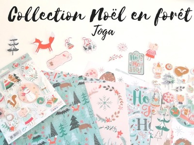 DECORER SON PLANNER : COLLECTION NOËL EN FORÊT -  TOGA