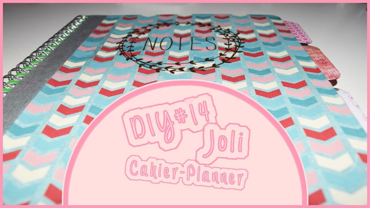 DIY#14 Réalisation d'un joli cahier-planner  | MissSév 02