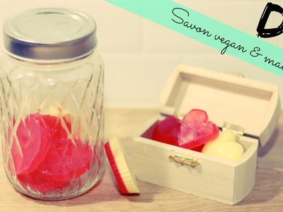 DIY #15 - Savon vegan & maison l Idée cadeau St valentin