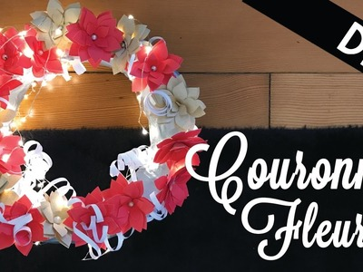 [ DIY # 3 ] : Couronne de Fleurs ! ♡