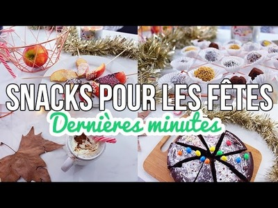 DIY | 4 SNACKS DE NOËL FACILES - Inspiration Pinterest