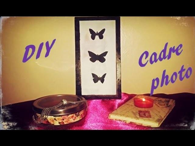 DIY : Créer des Cadres photos avec Papier Carton
