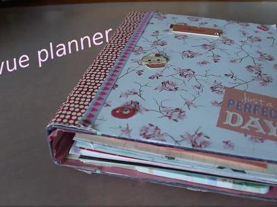 La revue de mon planner (fait main ).