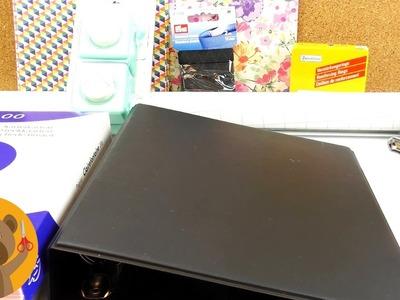 Planner DIY | Agenda à faire soi-même | Agenda à anneaux à bricoler & décorer - Idée créative