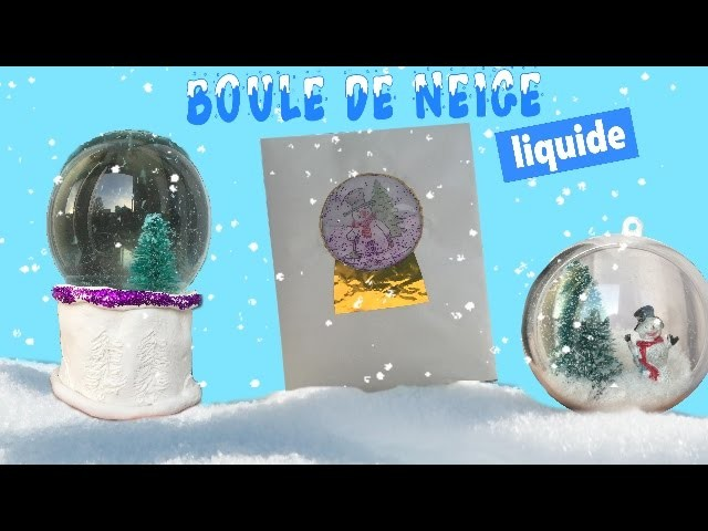 Reva ytb ┃DIY boule de neige ( diy liquide )
