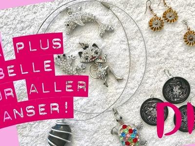 Un DIY bijoux facile pour être la plus belle pour les fêtes!