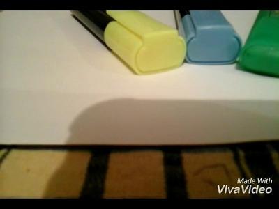 DIY facile :Boîte pratique pour ranger votre bureau (1ère partie)