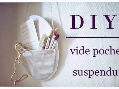 La minute ASTUCIEUSE • DIY • Le vide poche suspendu