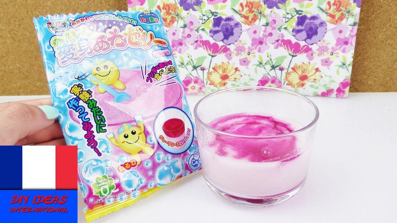 Popin' Cookin' Bubble Jelly Test | Kracie DIY Test duKit | Video Asia Candy | Est-ce bon???