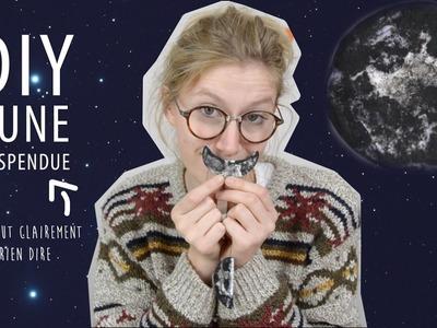 DIY - Lune suspendue
