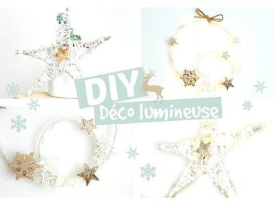 ❈ DIY Noël | 2 décorations lumineuses pour les fêtes