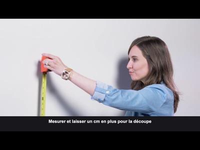 DIY - Poser du papier adhésif au mur