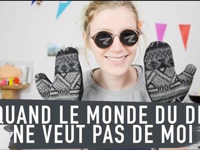DIY | UN VIEUX PULL POUR COMBATTRE LE FROID
