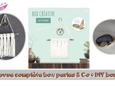 { Revue } Box automne perles & co + DIY bonus