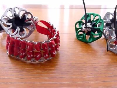 Bracelet D.I.Y en capsules de soda