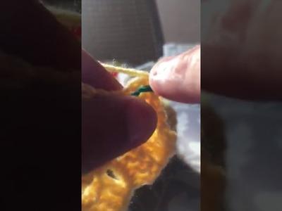Diminution du c2c carré au crochet
