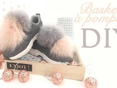 DIY - Baskets a pompons - Jolie Licorne