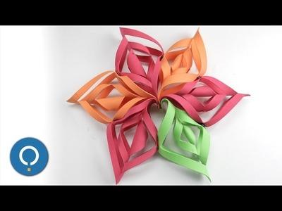 DIY Étoile de Noël en feuille de mousse