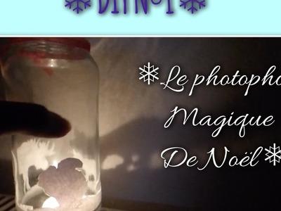 DIY Numéro 1 : ❅ Le Photophore Magique de Noël ❅