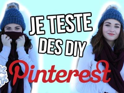 JE TESTE DES DIY PINTEREST!