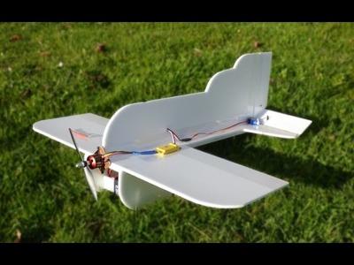 DIY : Comment faire un avion Radiocommandé